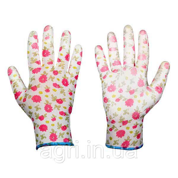 Защитные перчатки, PURE PRETTY, полиуретан, размер 8
