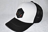 Кепка Gucci черно - белая