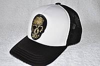 Кепка с пайетками череп , фото 1