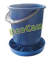 Бункерная кормушка для птицы на 10 литров