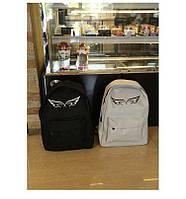 Рюкзак школьный повседневный с принтом Крылья