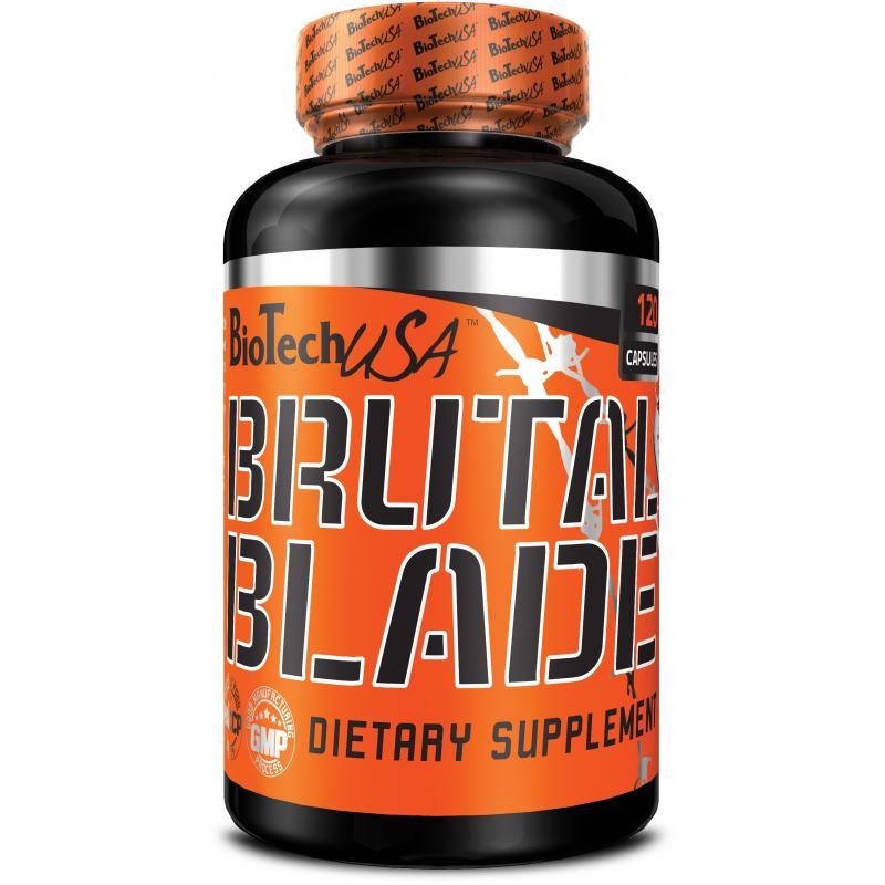 Жиросжигатель BioTech USA BRUTAL Blade 120 caps