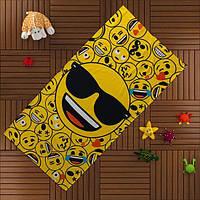 Пляжное полотенце TAC EMOJI 75*150