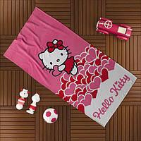 Пляжное полотенце TAC HELLO KITTY 75*150