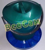 Бункерная кормушка для птицы на 7 литров
