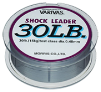 Леска, шнур рыболовный Rovita fishing Шок лидер Varivas Nylon Shock Leader 50м 200lb
