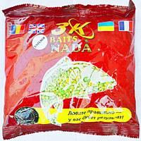 Прикормка, гранулы, насадки Rovita fishing Смесь 3K Baits для ПВА пакетов Чеснок 300гр