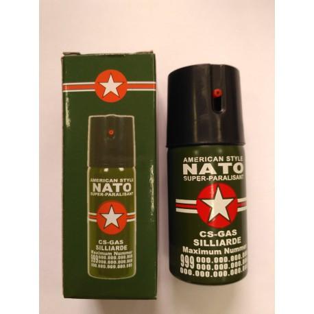 Баллончик струйный  газовый  НАТО , 6 сек