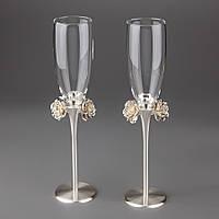 Свадебные бокалы Розы 021G