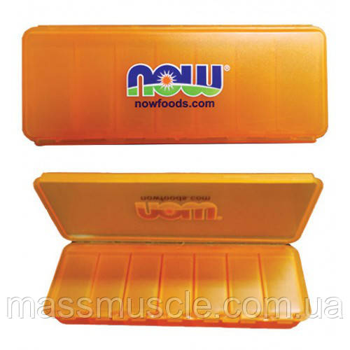 Таблетница NOW Foods 7 Day Pill Case