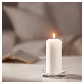 ФЕНОМЕН Неароматическая свеча формовая, неокрашенный, 15 см, 00103282, IKEA, ИКЕА, FENOMEN, фото 2