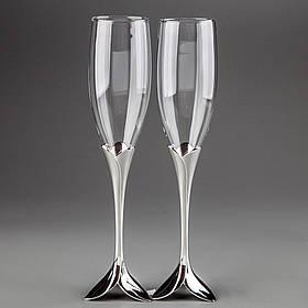 Свадебные бокалы Лепестки 005GT