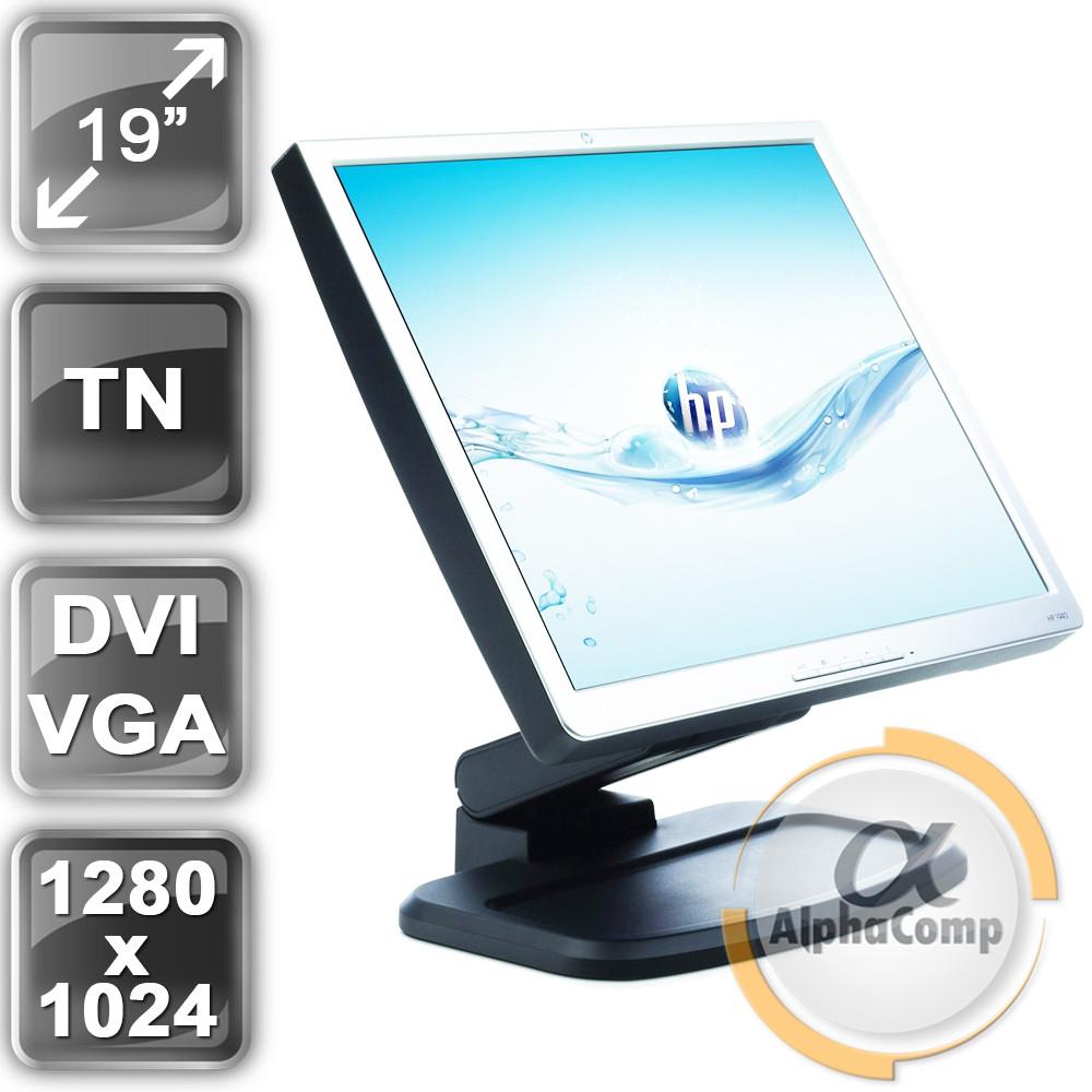 "Монитор 19"" HP L1940 (TN/5:4/VGA/DVI/USB) class A БУ"