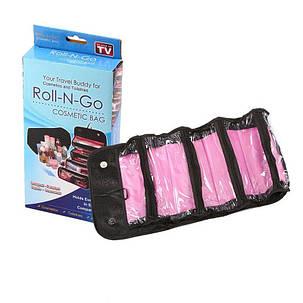 Органайзер для косметики Roll-N-Go! Roll-N-Pack, фото 2