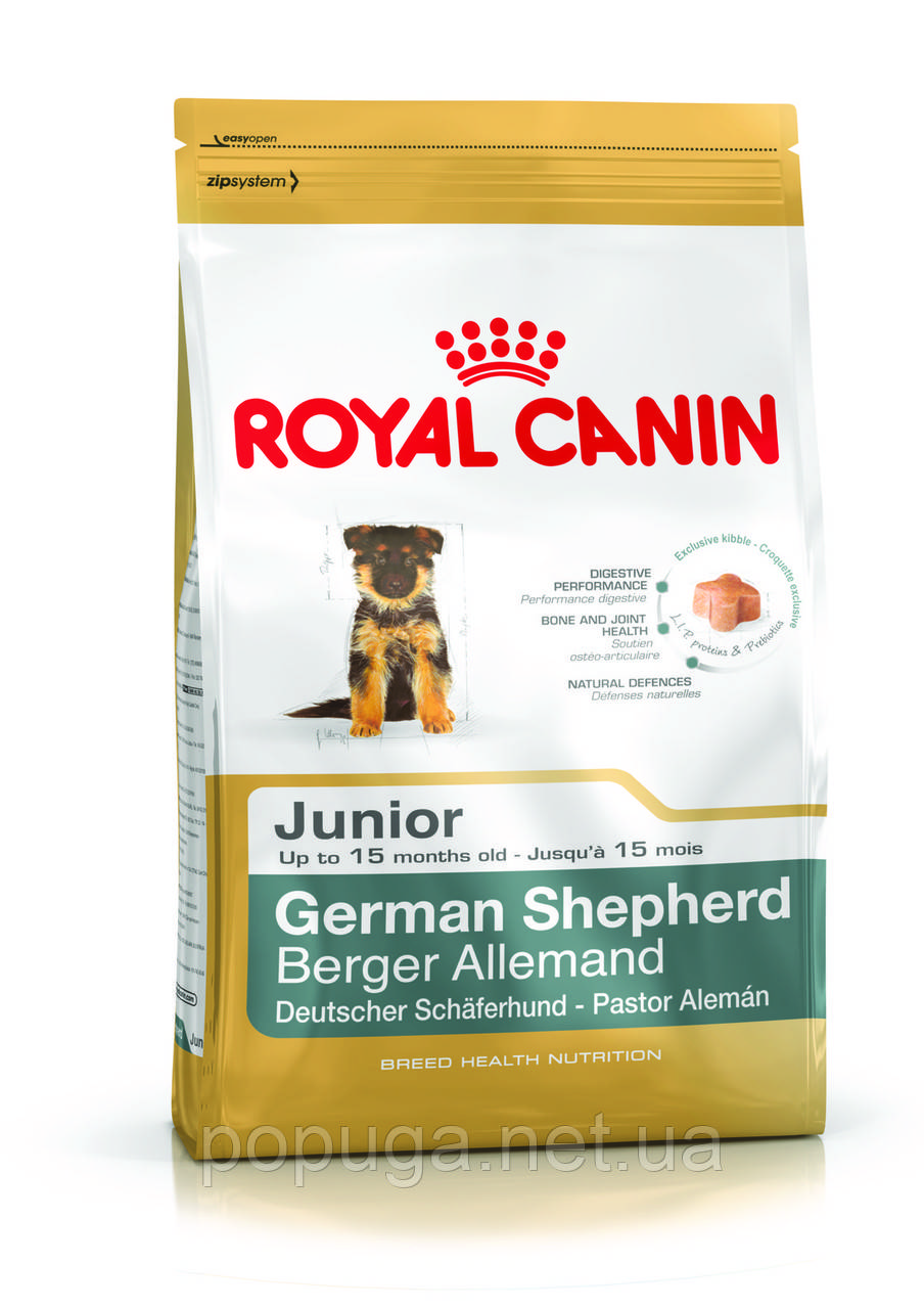 Royal Canin German Shepherd Junior корм для овчарки, 3 кг