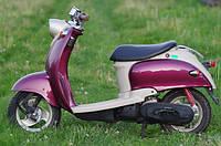 Скутер Yamaha Vino (вишнёвый) , фото 1