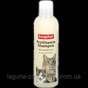 Шампунь для котят 200мл Бифар с маслом ореха макадамии