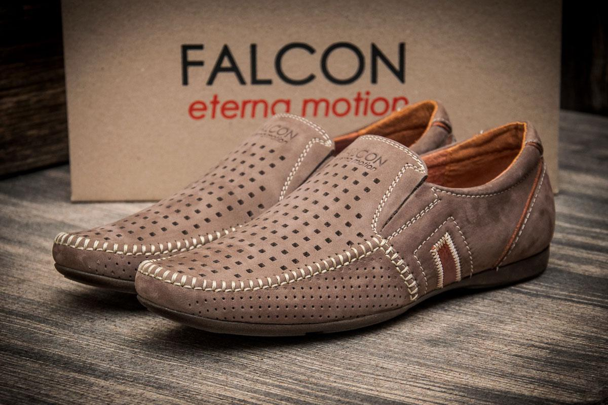 Мокасины мужские Falcon, бежевые (2947-1),  [   40 41 43 45  ]