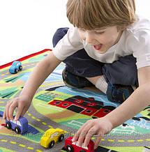 Ігровий килимок з машинками Міська дорога Melissa&Doug, фото 2