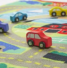 Ігровий килимок з машинками Міська дорога Melissa&Doug, фото 3