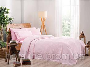 Постельное белье Tac Jakar Pike Rosabella pembe розовый евро