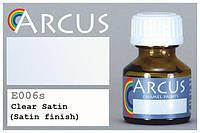 Алкидный прозрачный полуматовый лак, Arcus E006S