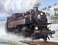 1:35 Сборная модель паровоза Dampflokomotive BR-86, Trumpeter 00217