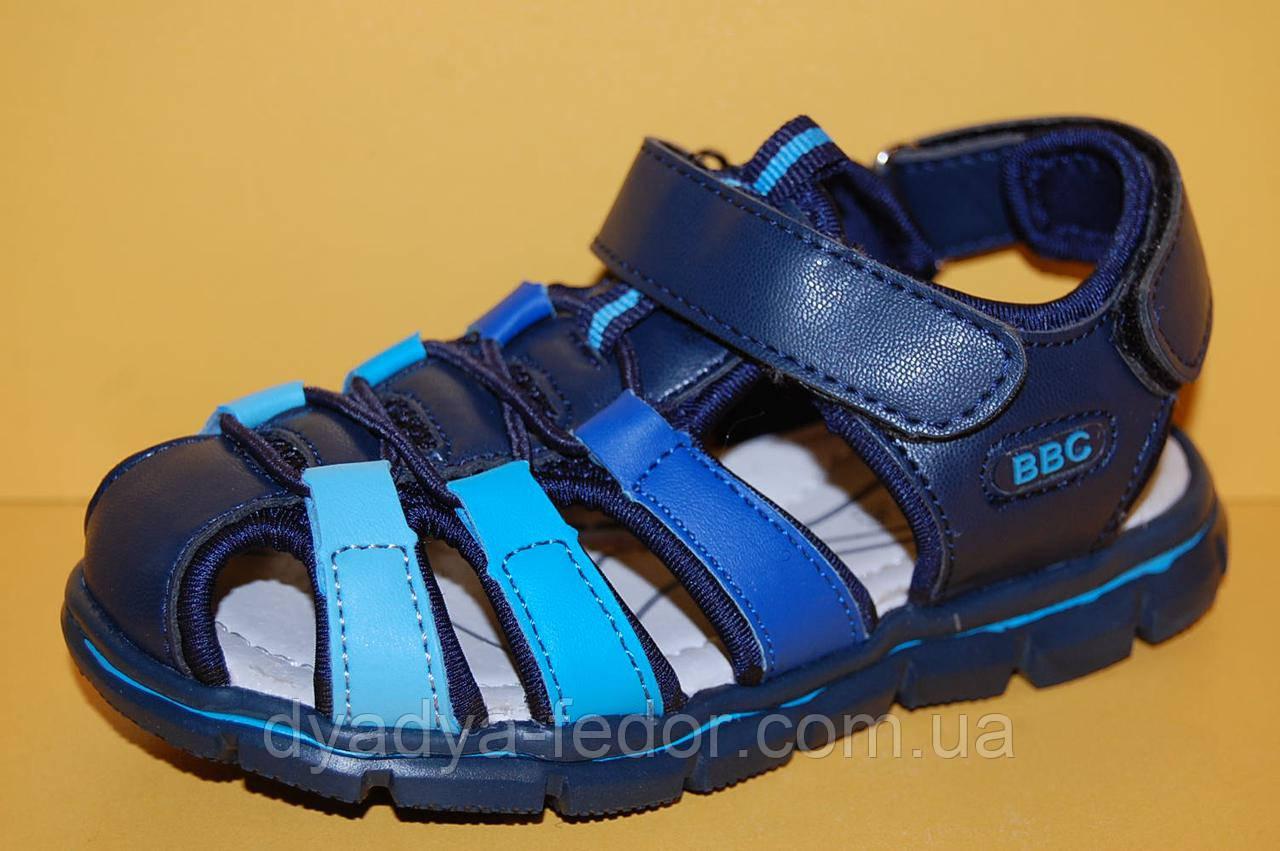 Детские сандалии ТМ Том.М код 3592 синий размеры 26-31