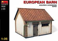 1:35 Европейский сарай, MiniArt 35534