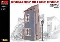 1:35 Нормандский деревенский дом, MiniArt 35524