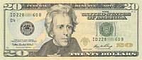 Пачка денег 20 $