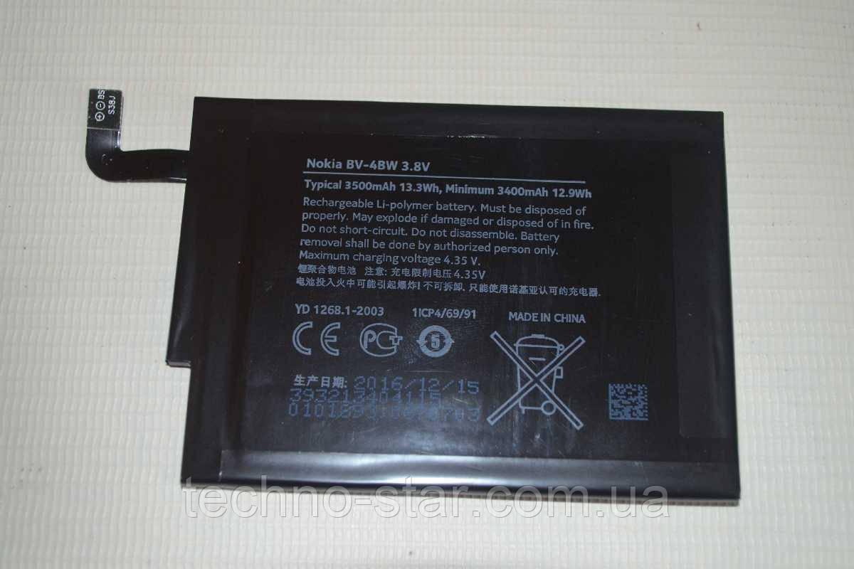 Оригинальный аккумулятор BV-4BW для Nokia Lumia 1520