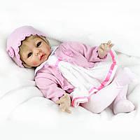 Кукла реборн 55 см девочка Варенька