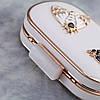 Вечерняя сумка Bluebell Butterfly White, фото 3