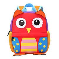 Детский 3D рюкзак из неопрена МИЛАЯ СОВА