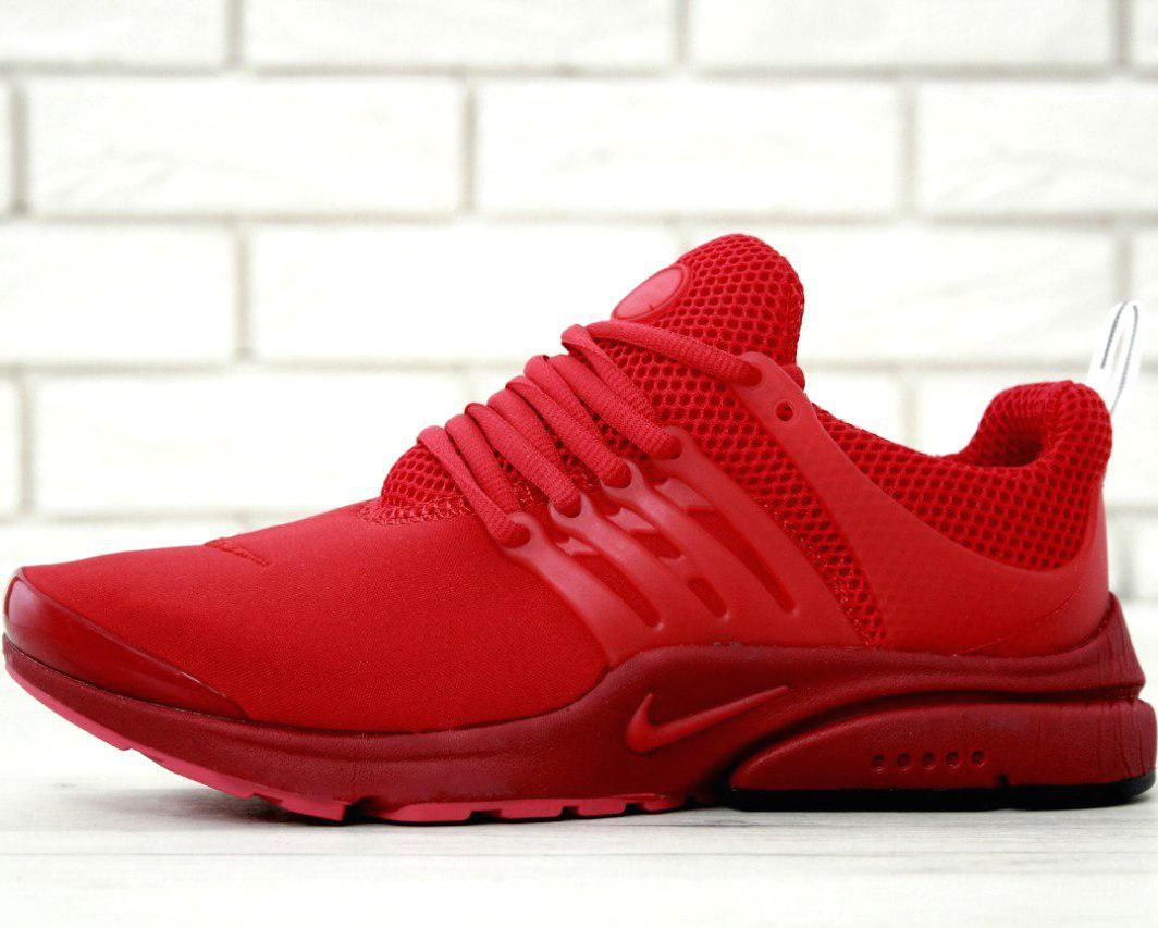 Мужские кроссовки Nike Air Presto Fleece Red