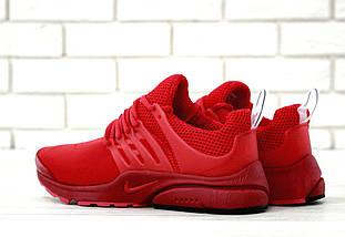 Мужские кроссовки Nike Air Presto Fleece Red, фото 3