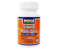 Витамины жидкие Liquid Multi Gels (60 softgels)
