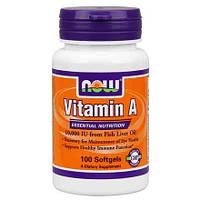 Витамин А Vitamin A 10,000 IU (100 softgels)