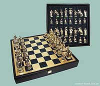 Шахматы «Мушкетеры», синие, 40х40 см