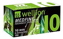 Иглы для шприц ручек универсальные Wellion MEDFINE plus 29G(0.33*10mm)