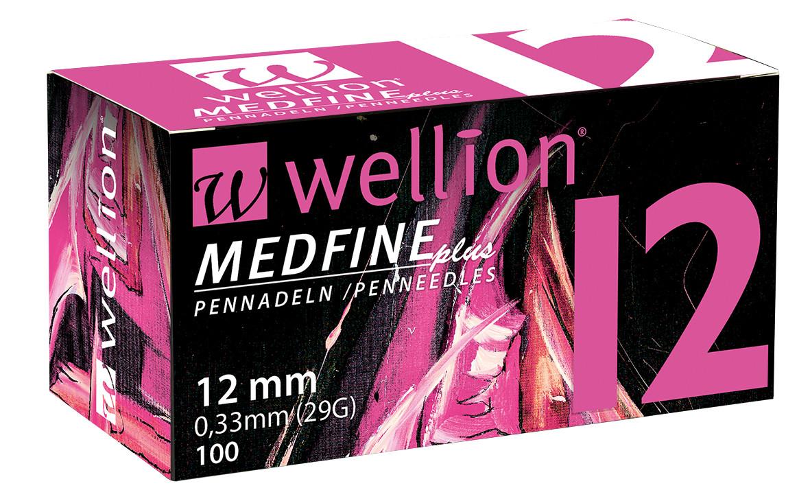 Иглы для шприц ручек универсальные Wellion MEDFINE plus 29G(0.33*12mm)