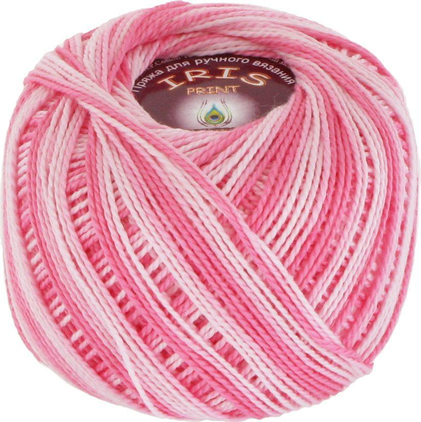 Пряжа Iris print (Vita Cotton) № 2205, светло-розовый меланж