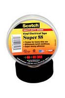 3M Scotch Super 88 - Особо прочная изоляционная лента высшего класса 19,0х0,22, рулон 18 м, черный