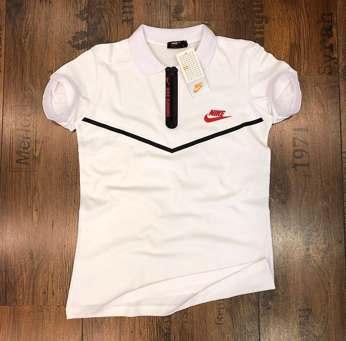 6de397089d2d3 Мужская футболка поло Nike белая (реплика): продажа, цена в Днепре ...