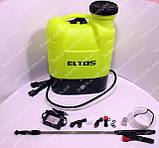 Аккумуляторный опрыскиватель Eltos АО-16М (штанга 1.5 м), фото 6
