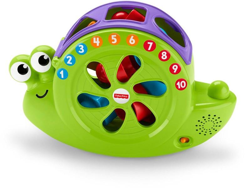 Fisher-Price Музыкальная улитка-сортер Rock 'n Sort Snail Pail Toy Playset