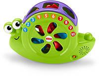 Fisher-Price Музыкальная улитка-сортер Rock 'n Sort Snail Pail Toy Playset, фото 1