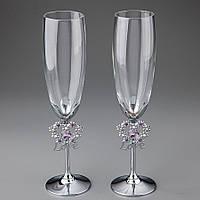 Свадебные бокалы Love Crystocraft 0376-C11SL