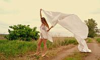 Свадебный атласный пеньюар с халатом на запах, цвета айвори
